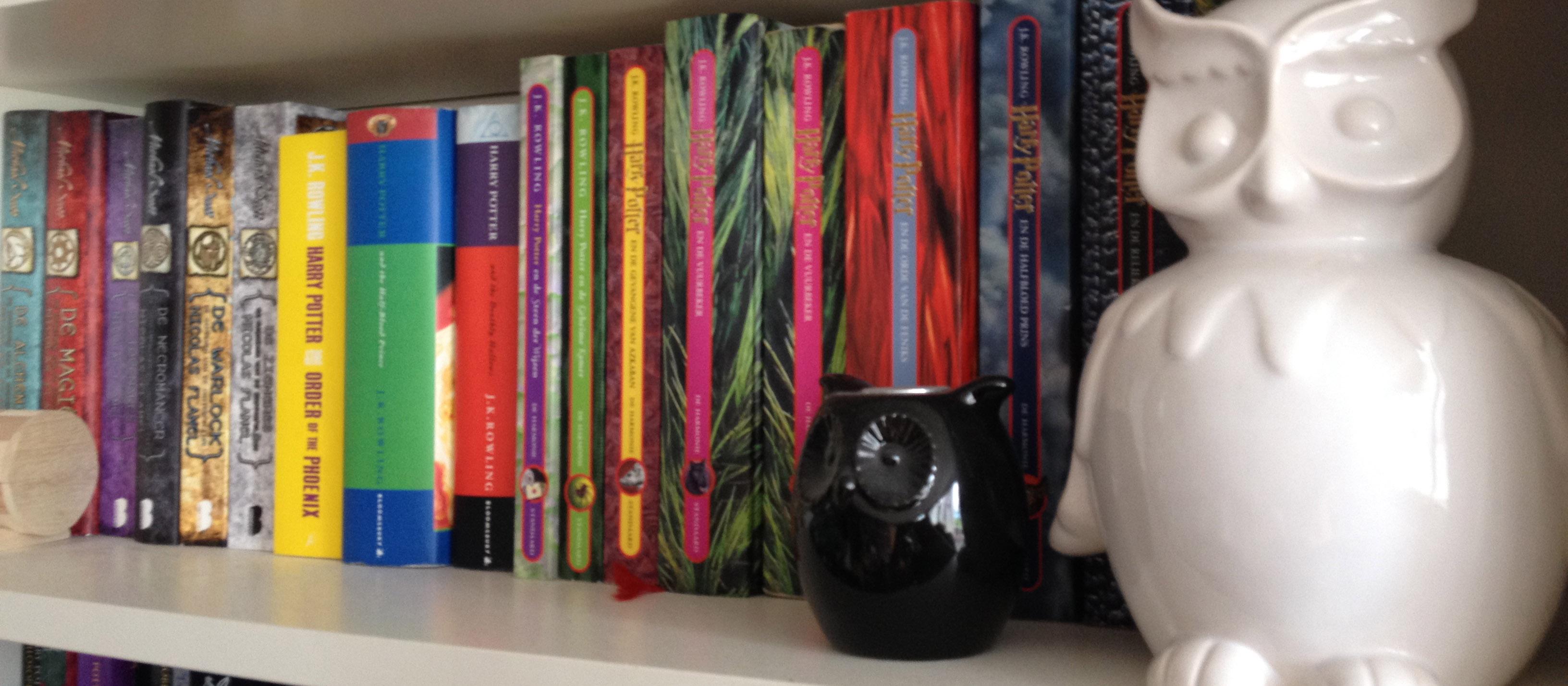Mijn Harry Potter Plank Mag Zeker Niet Ontbreken! Zonder Deze Plank, Was Ik  Nooit Zou0027n Grote Boekenwurm Geworden Als Ik Nu Ben.