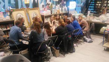 YA schrijfworkshop door Suzanne Wouda bij Van Piere