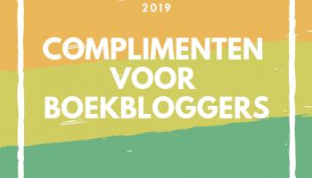 De boekblogger complimenten 2019