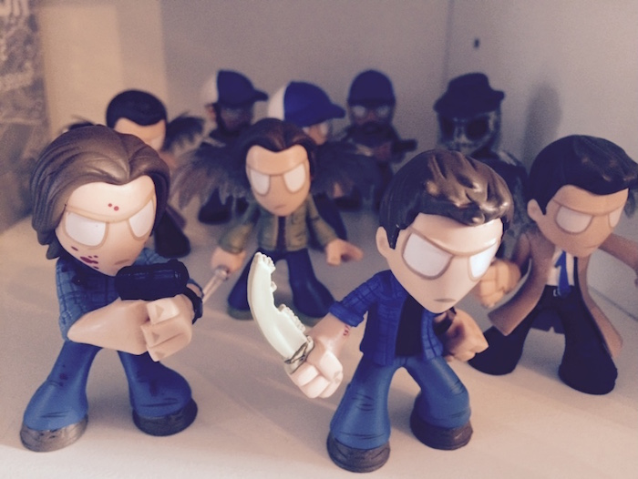 Supernatural mystery minis