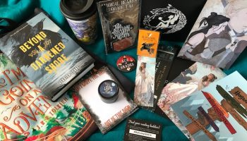 Fairyloot + Celebrate Books + Harry Potter geek gear box unboxing