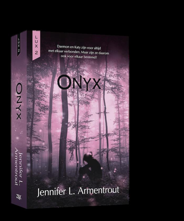 Coveronthulling: Onyx, deel twee van de Lux serie van Jennifer L. Armentrout