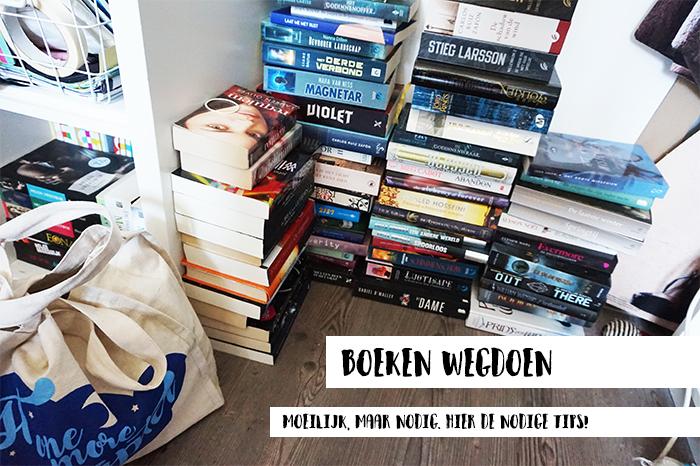 Je kasten uitruimen: boeken wegdoen