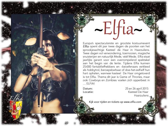 Kom jij ook naar Elfia 2015?