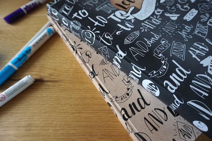 Handletter- en Chalkletter schetsboek