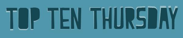 TTT | Top 10 Trends in boeken die ik zat ben