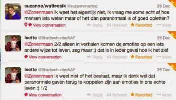 Twittervraag #1: Geloven jullie in paranormale gaven?