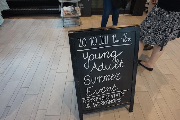 YA Event bij Van Piere
