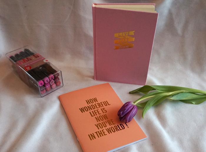 WIN twinmarkers en een te tof notitieboekje